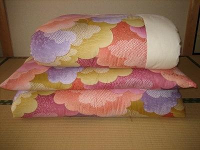 戸田屋寝具店-打ち直し後羽毛布団