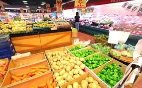 主婦の店-店内野菜コーナー