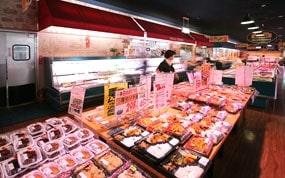 主婦の店-店内惣菜・お弁当コーナー