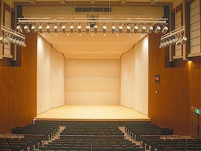 君津市民文化ホール-中ホール舞台