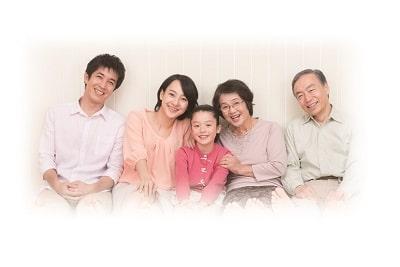 カット専門店 ルーキー-家族写真