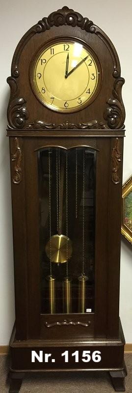Wunderschöne Junghans Standuhr mit Westminster Schlagaus ca. 20er Jahren. RARITÄT - H: 203 B: 65 T: 28