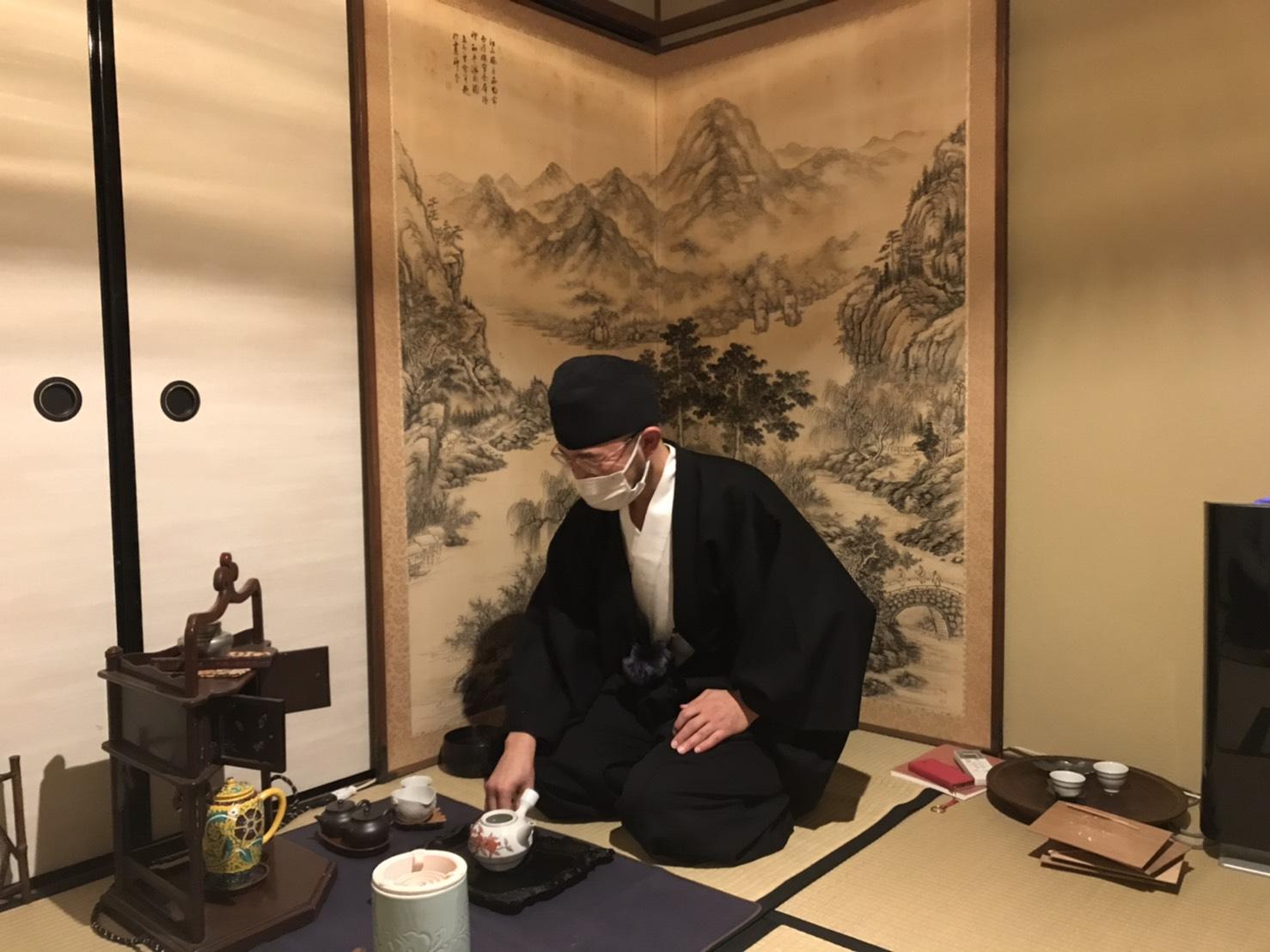 奈良で煎茶体験してきました。