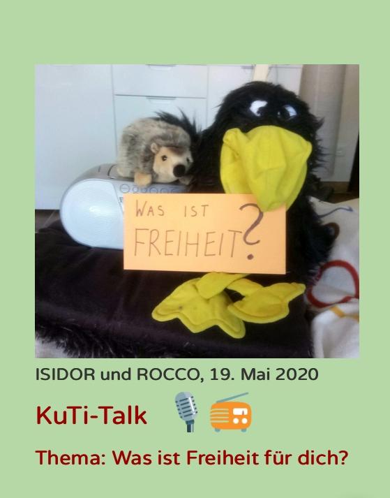 Wichtiges Thema für die Kutis aus den Kuscheltierkommentaren von Nicole Kräbber: Was ist Freiheit?