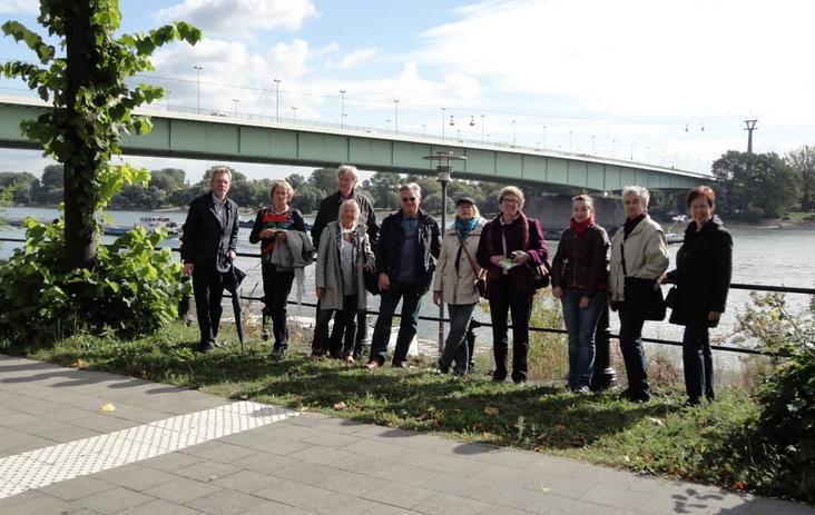 Mitglieder des Kunstkreis Siegerland am Rhein, Besuch Skulpturenpark Köln 2012