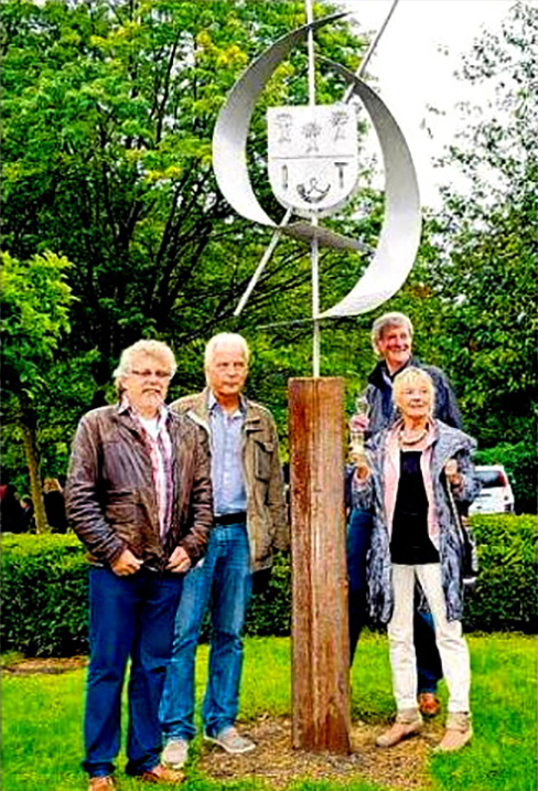 Übergabe der Bürbacher Skulptur, Bürbach, Siegen, 2014