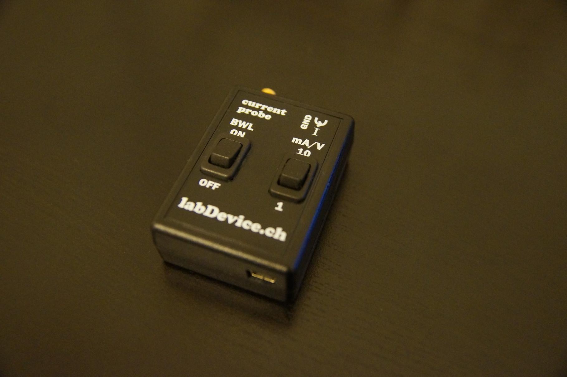 microcontroller sleep current probe