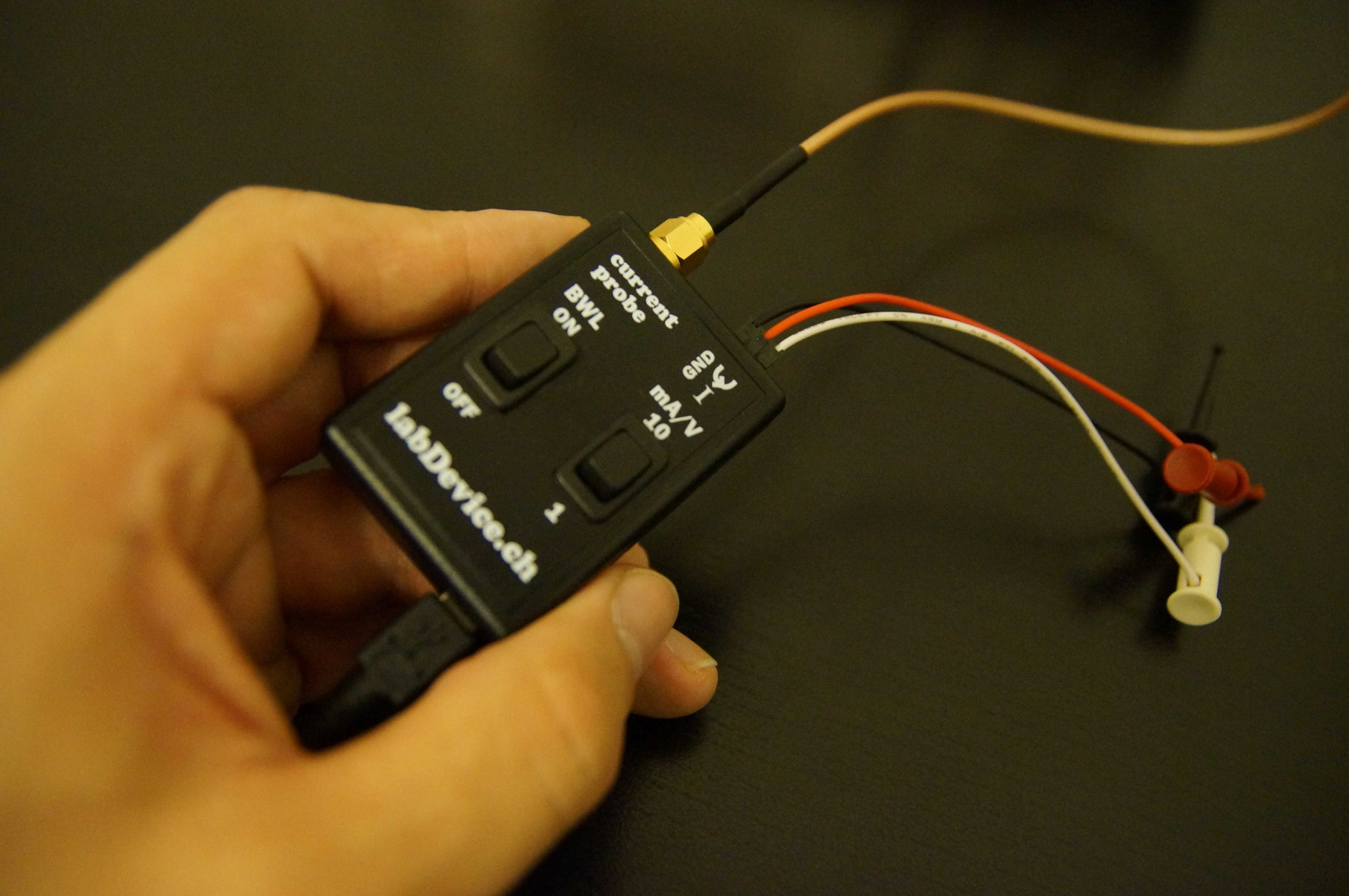 Low cost current probe