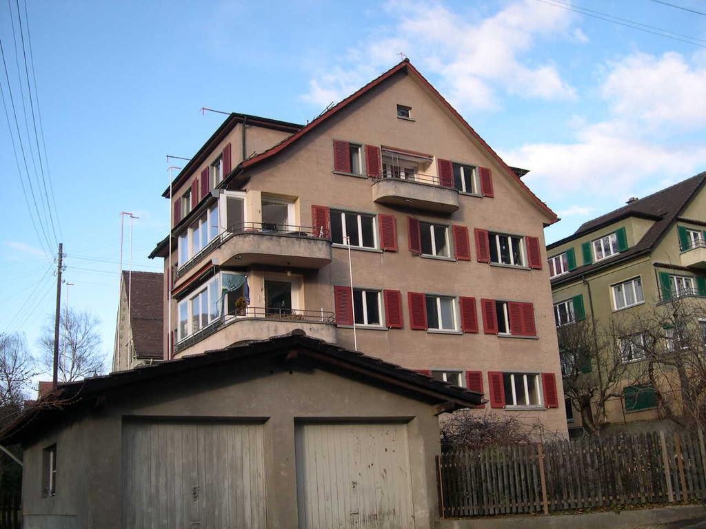 Ansicht Süd Westfassade