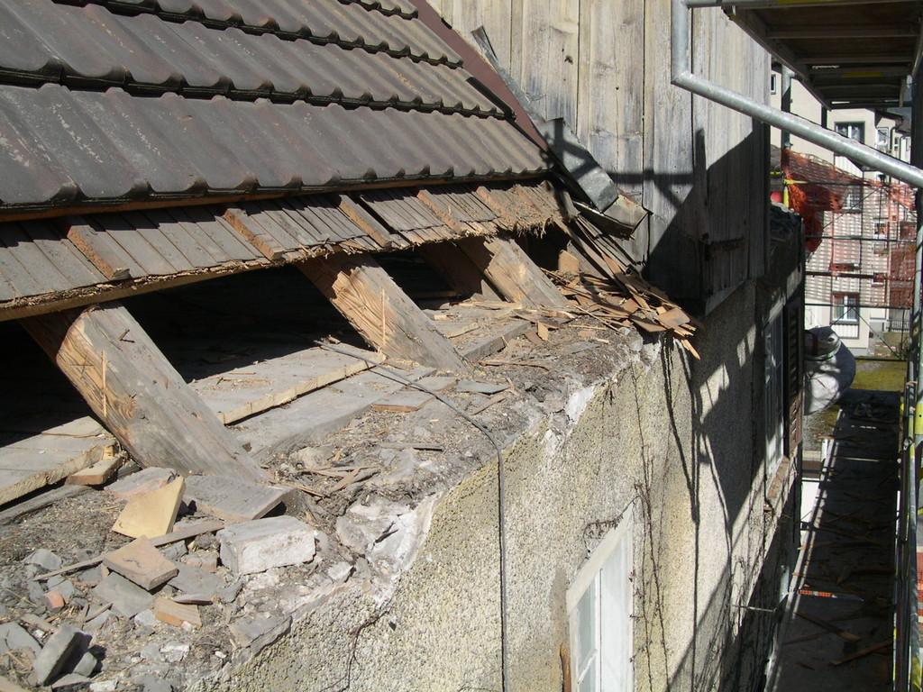 Dachdetail Vordach