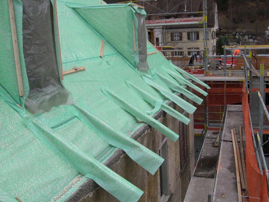 Dachkonstruktion Vordach