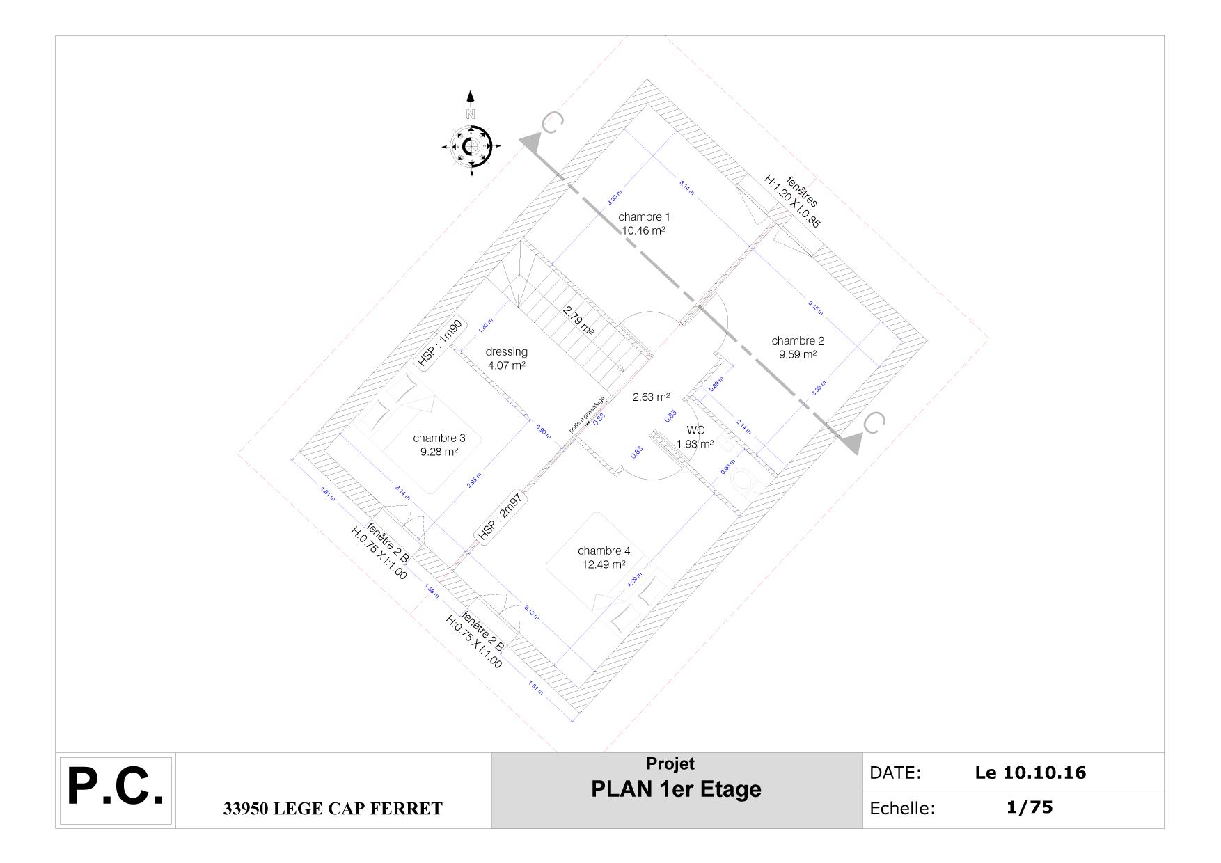 Exemples Realisations Plans Pour Permis De Construire Ou