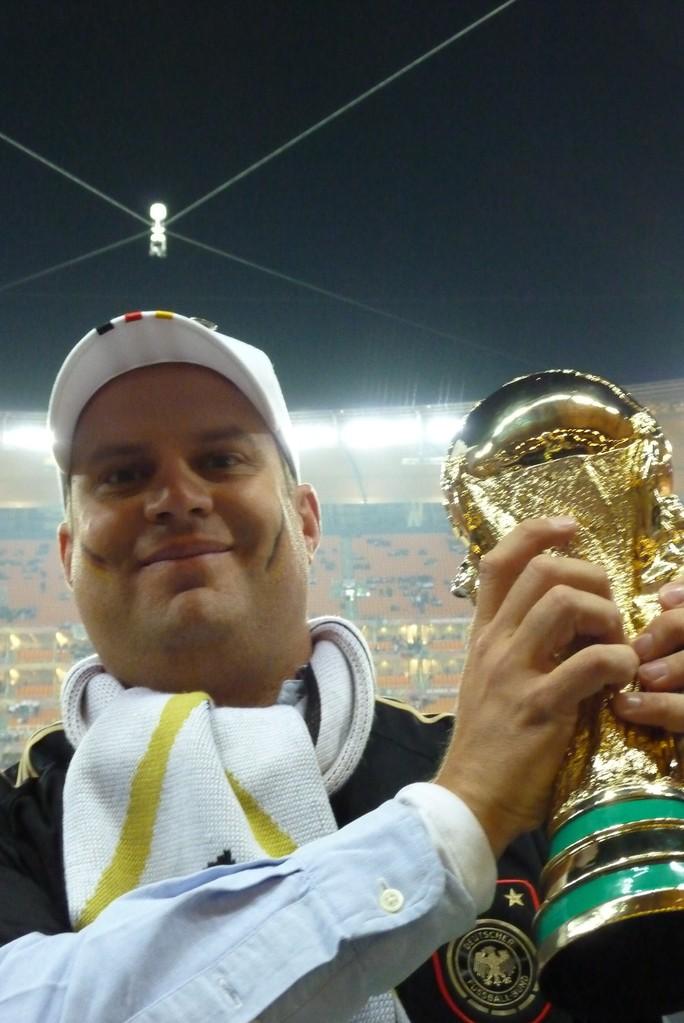 Sport haben damals nur andere gemacht - hier bei der WM 2010 in Südafrika