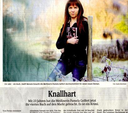 """Pamela Gelfert mit """"Im Schatten der Rache"""""""