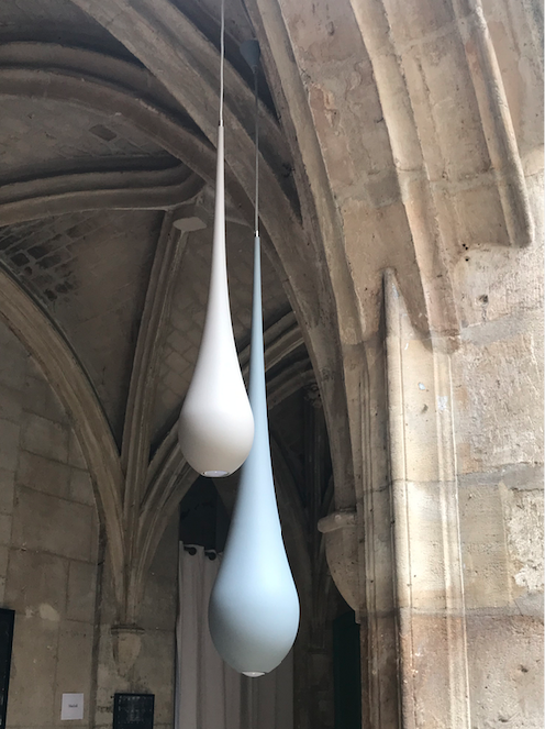 Bloomboom - lampe Drop, Drops, made in France, artisanal, exposition, Marais, Paris, Le cloître des billets, interieor design, décor, luminaires, made in france, création François-Marie Gérard et Irma Birka