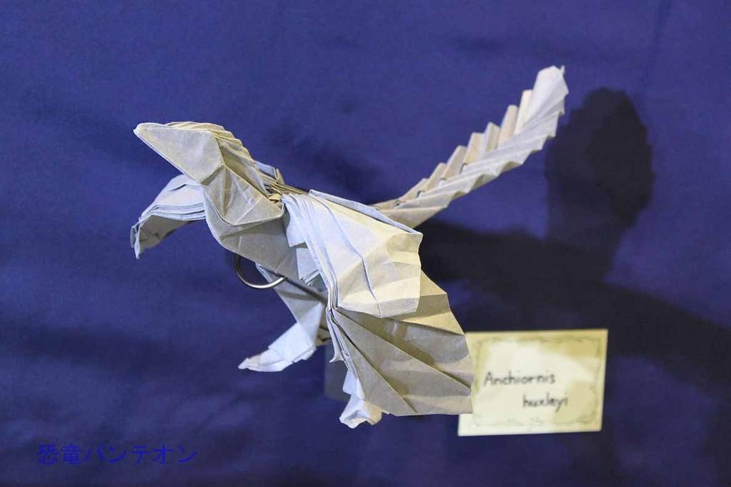 まつもとかずやさんの恐竜折り紙 アンキオルニス