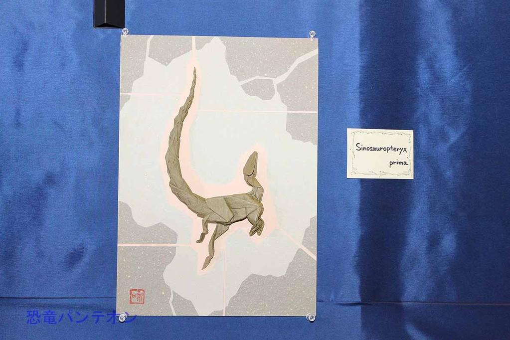 まつもとかずやさんの恐竜折り紙 シノサウロプテリクス