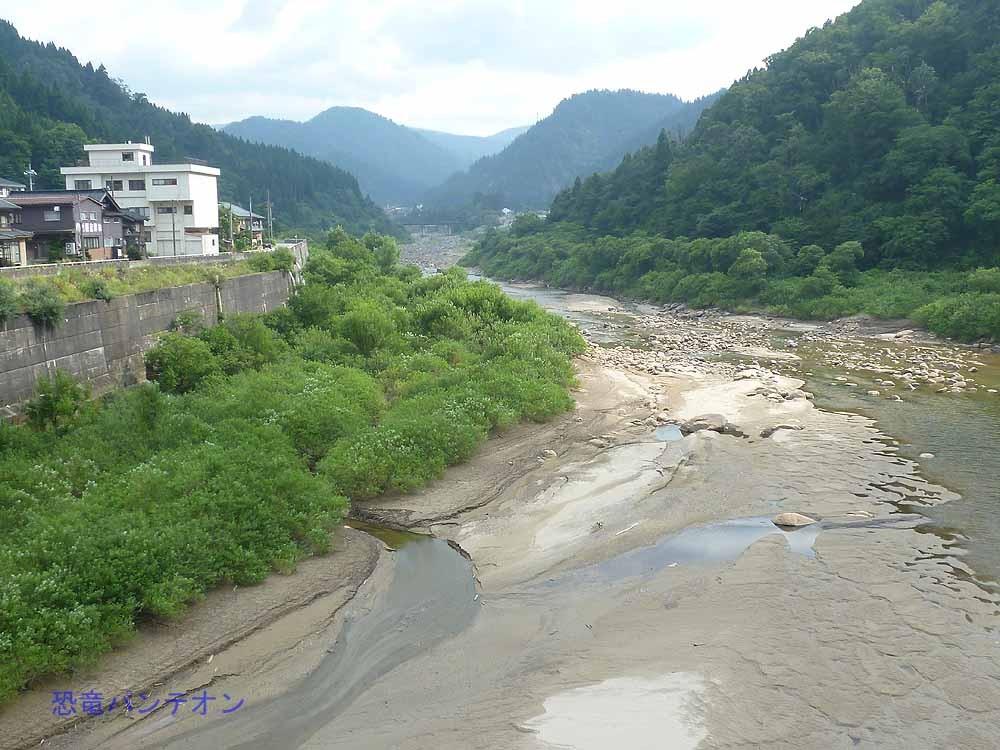 手取川、上流