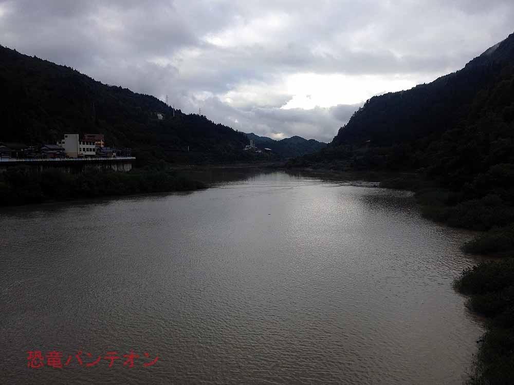 今年の手取河はこんなに増水