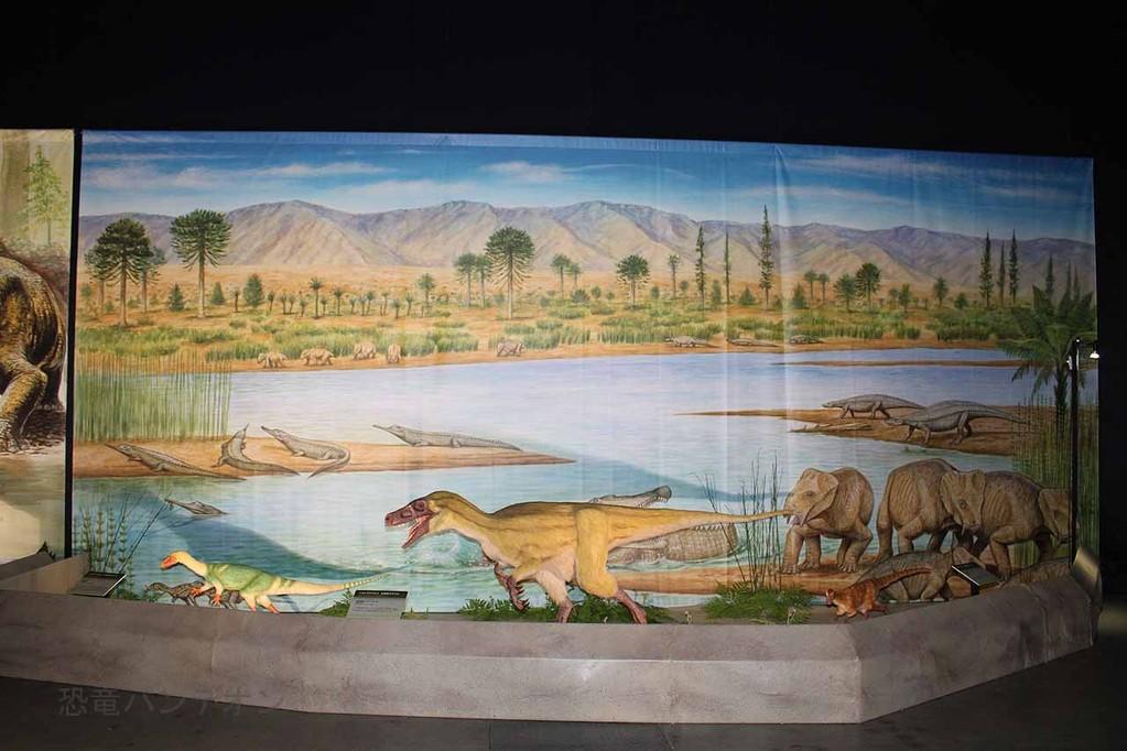 超大陸パンゲアの生態復元