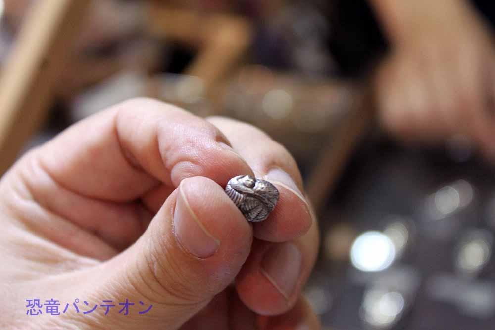 これは、K先生が実物化石を持ち込んで作成してもらったというもの。わかります?