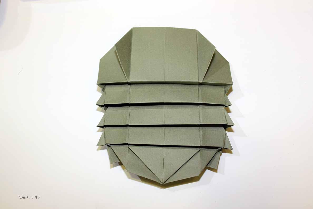 折り紙で作る恐竜の世界