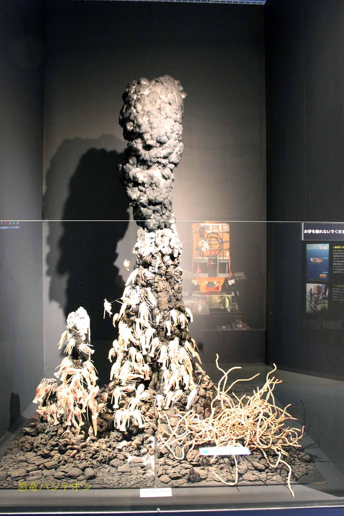 熱水噴出口模型