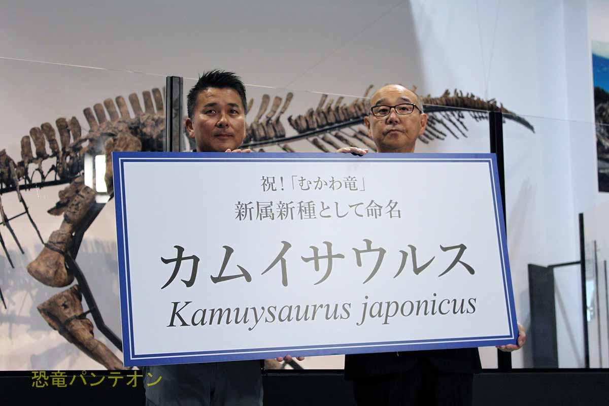 カムイサウルス発表!