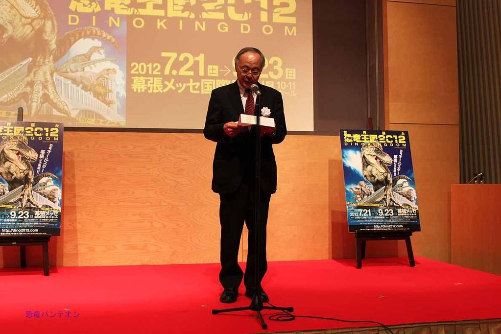 主催代表挨拶、株式会社テレビ朝日 専務取締役 久保田 泉氏