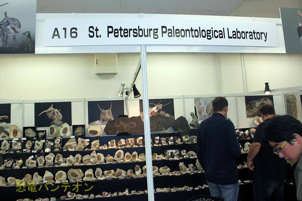 St.Petersburg Paleontological Laboratory ロシアのお店です