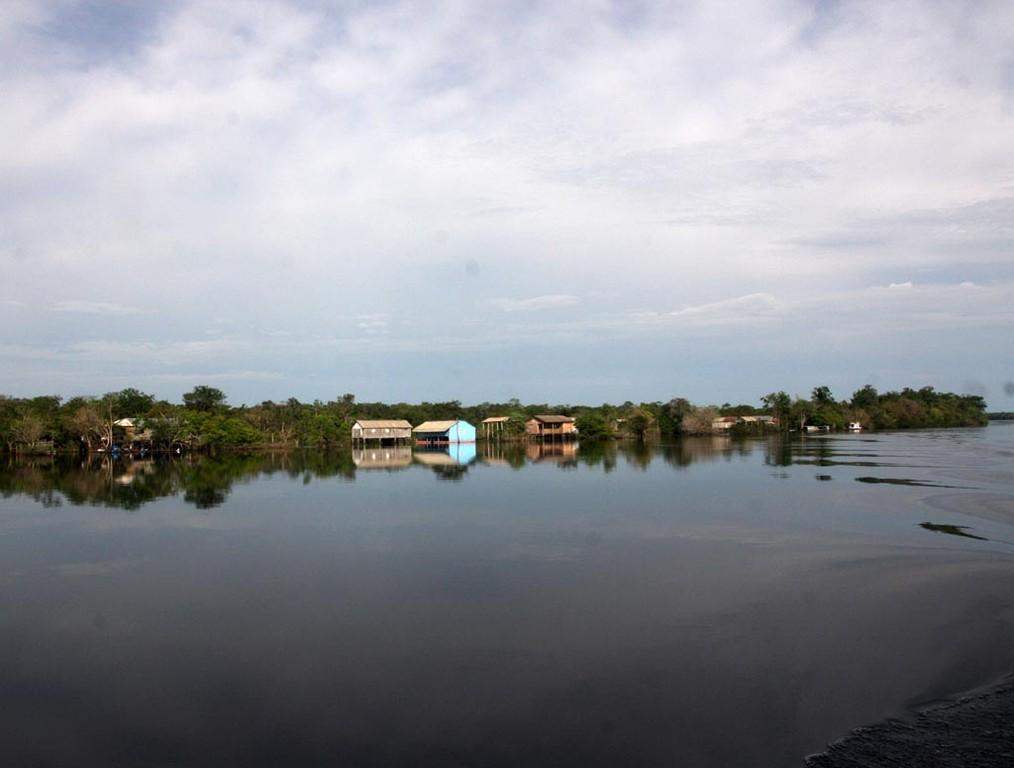 Im Ort Daracuá leben nur Neonfischer, unser Guide Pineiro ist in diesem Ort aufgewachsen.