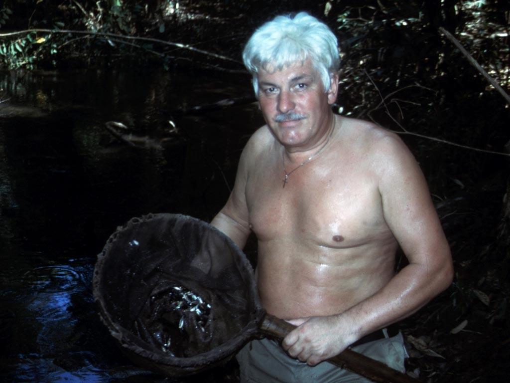 Bei einem derart mit Fischen gefüllten Kescher ist die Freude riesig.
