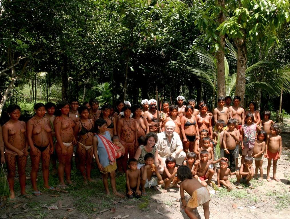 Wir wurden in den drei Tagen sehr freundlich und respektvoll von den Yanomami behandelt.