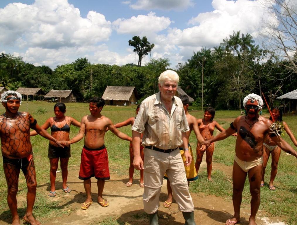 Auf eindrucksvolle Weise demonstrierten die Yanomami ihr Können.