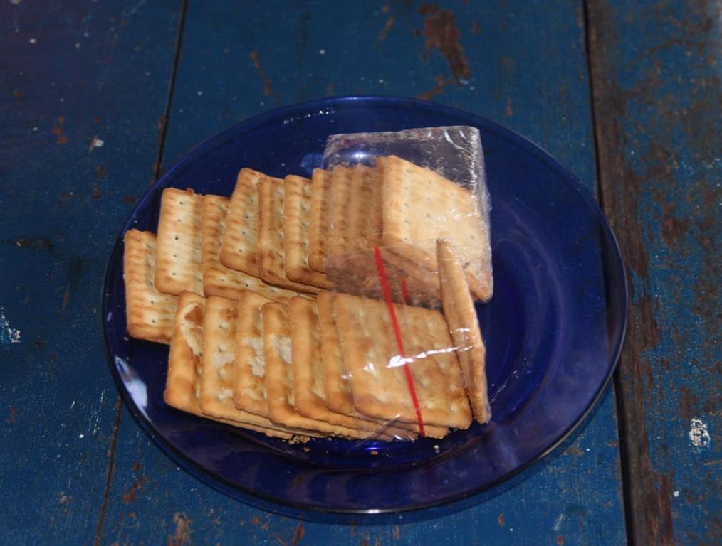 Mit diesen Salz-Keksen kann man sämtliche Kleinfische ködern.
