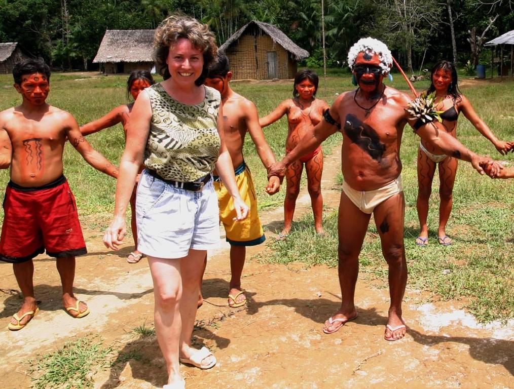 Wenn man von Indios gefangen ist, dann gibt es kein Entkommen mehr.