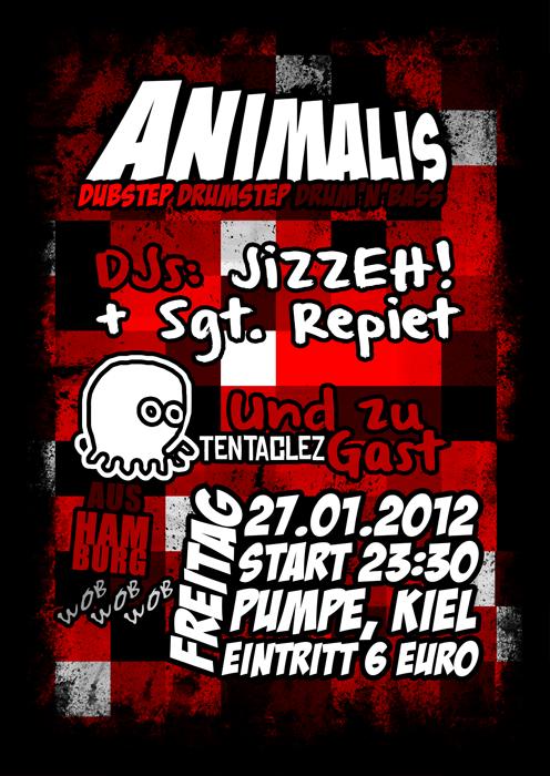 Animalis Dubstep Pumpe Kiel