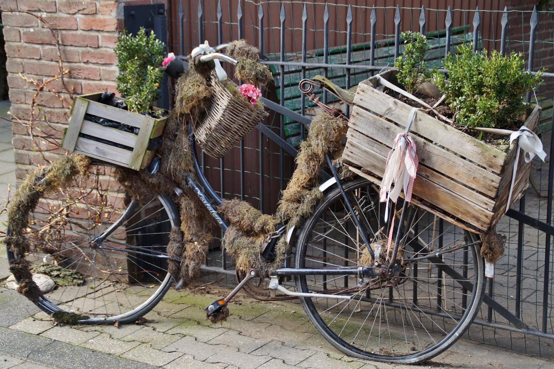 Umgestaltung eines Fahrrades (in Wehr)