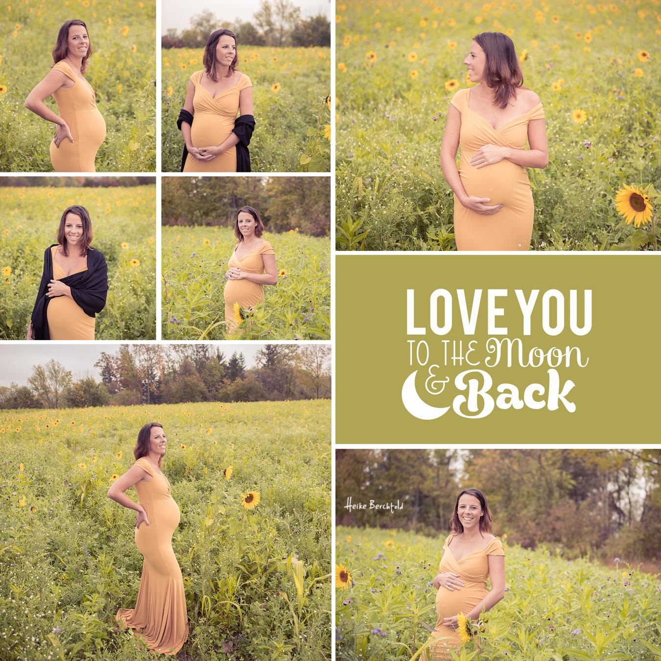 Schwangerschaft Fotoshooting im Herbst