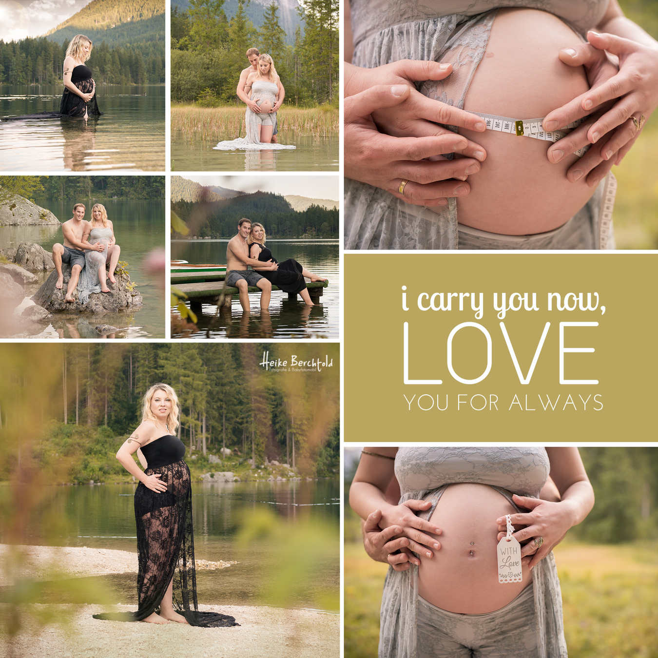 Berchtesgaden Schwangerschaftsfotos