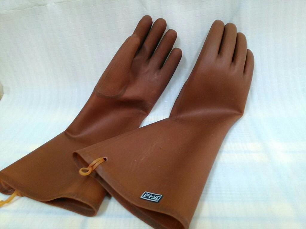 ラバートップ手袋40cmサイズ