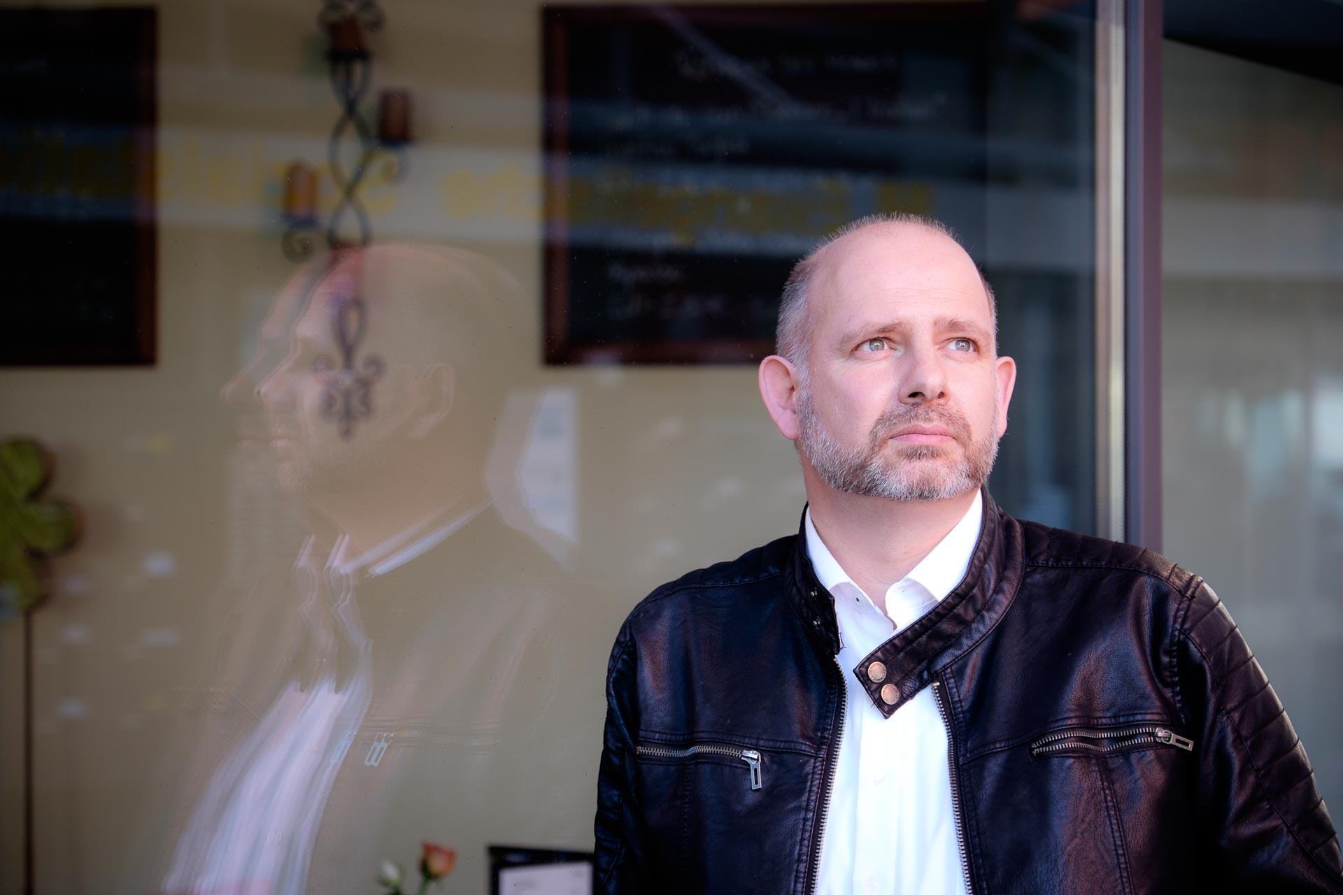 Als Fotograf in Bad Rappenau, Portrait Holger Ries