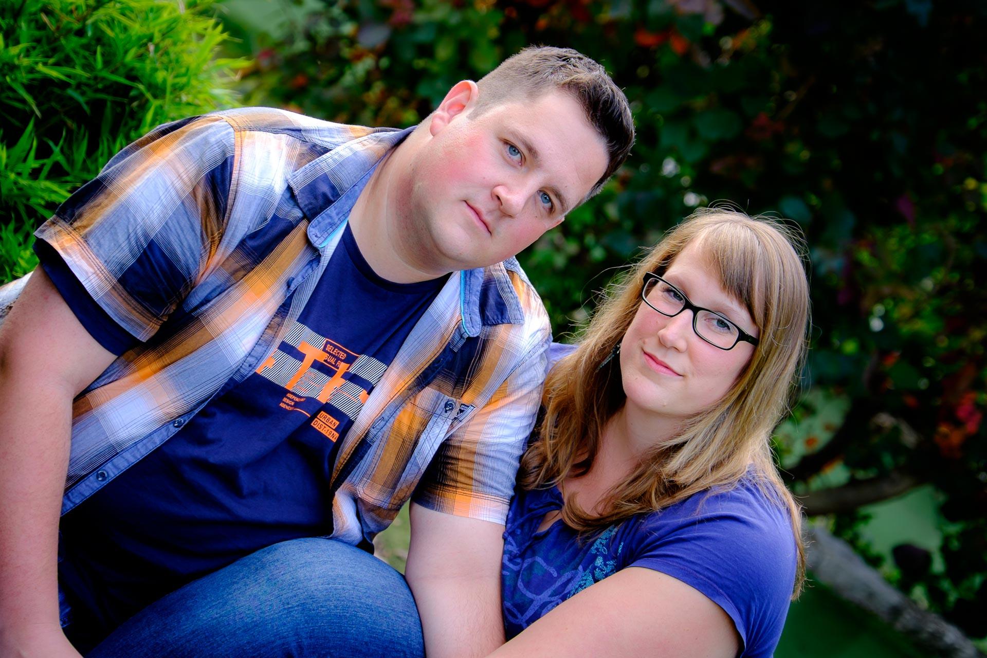 Paar verlobt in Winnenden