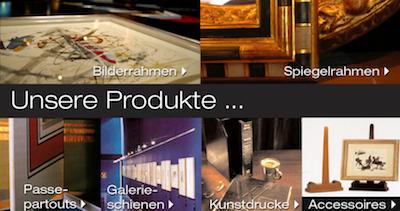 Bilderrahmen Produkte Wien