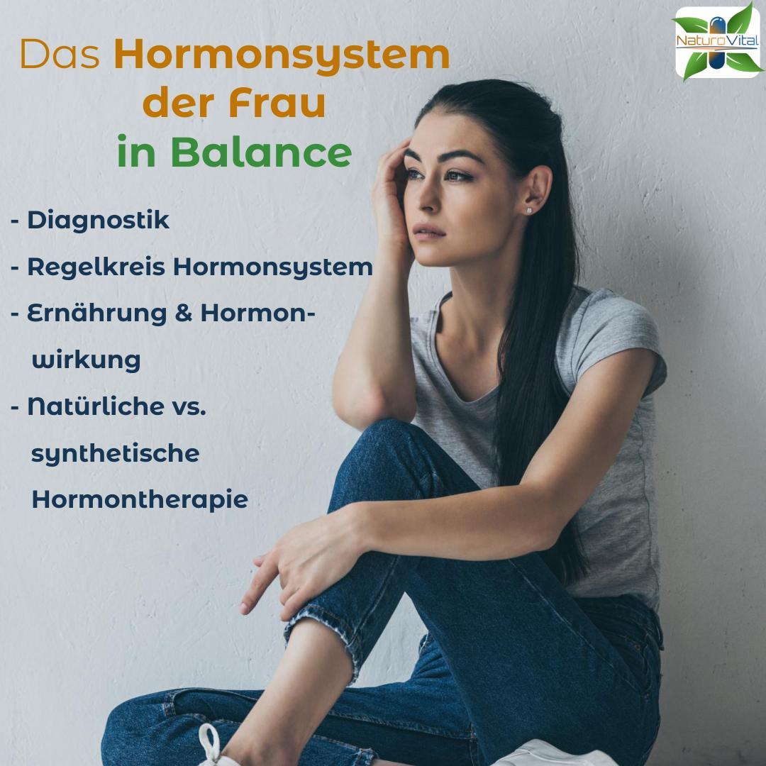 Das Hormonsystem der Frau in Balance (2/3)