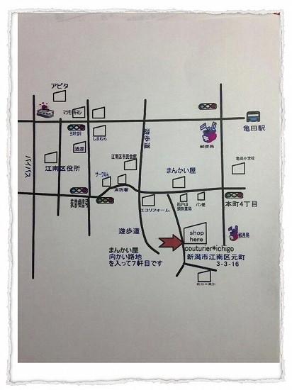 couturier*ichigo  地図