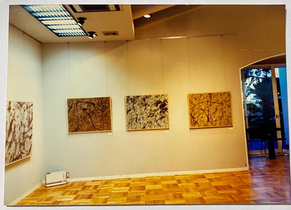 画廊ぶらんしゅ、会場風景、1987年