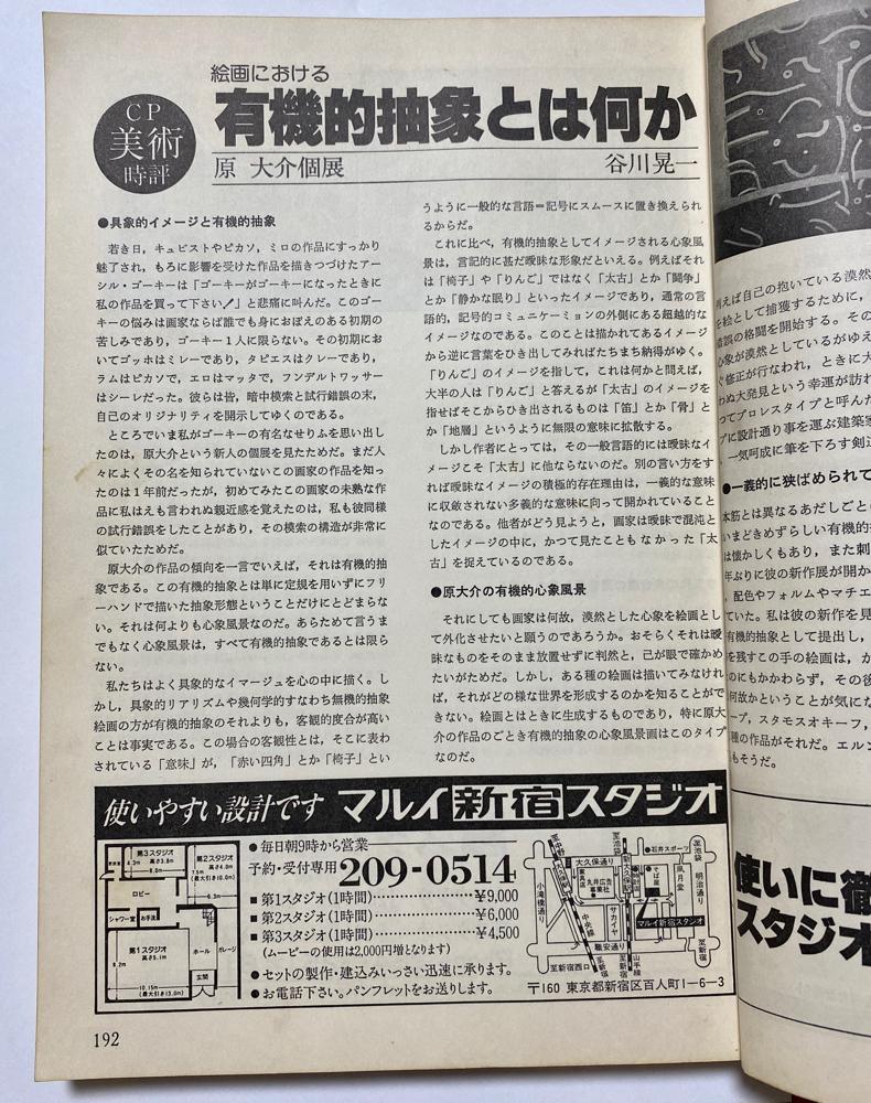 谷川晃一さんに書いていただいた評論・雑誌192P