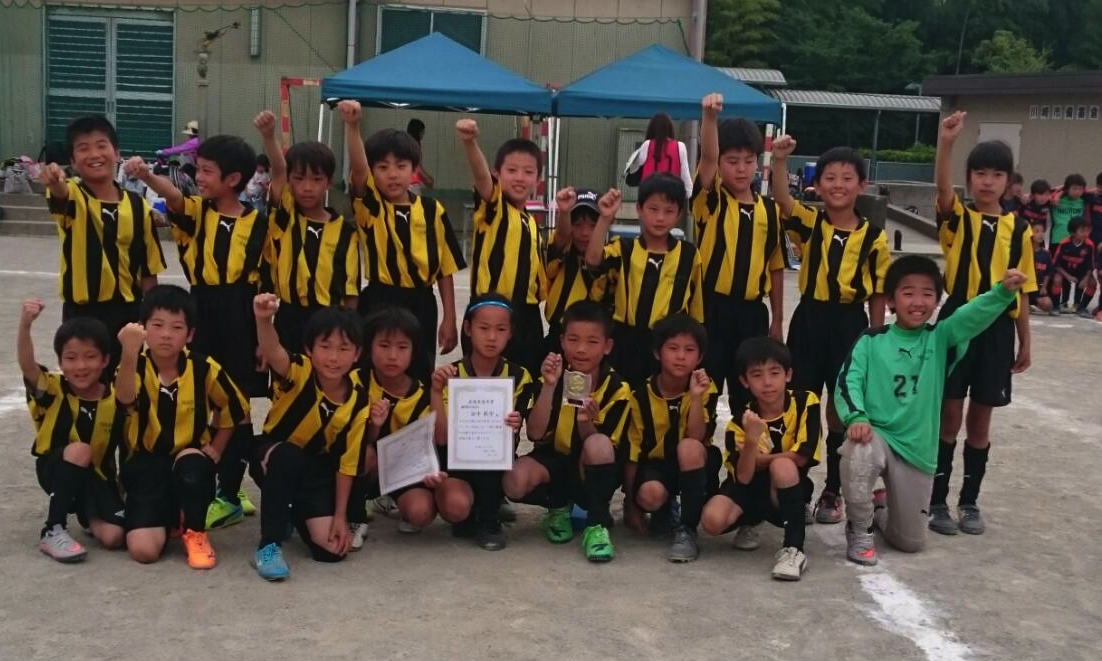 犬蔵SC主催1DAYカップ 3位(4年生)
