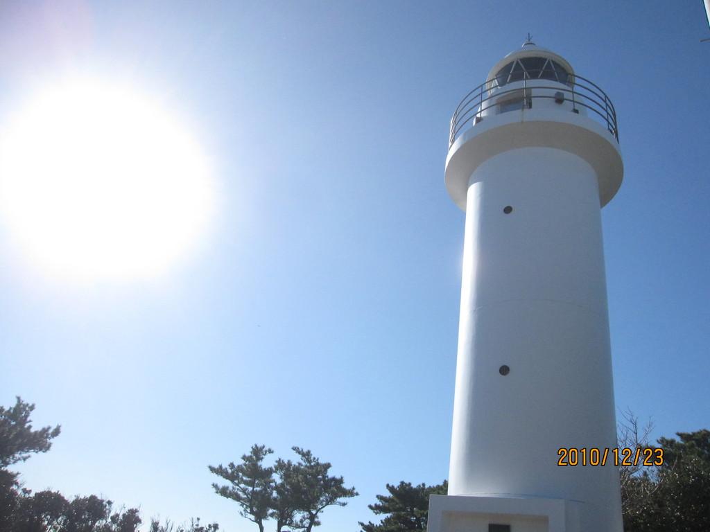 竜王崎灯台。